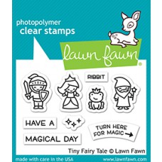 Lawn Fawn - tiny fairy tale - Clear Stamp 2x3