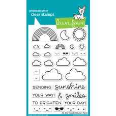 Lawn Fawn - all the clouds - Clear Stamp 4x6