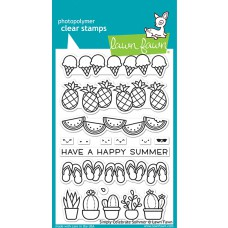 Lawn Fawn - simply celebrate summer - Clear Stamp 4x6