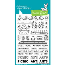 Lawn Fawn - crazy antics - Clear Stamp 4x6
