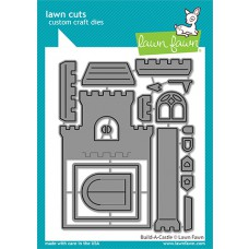 Lawn Fawn - build-a-castle - Stanzen