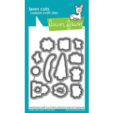 Lawn Fawn - car critters christmas add-on - Stanzen