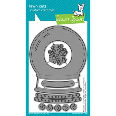 Lawn Fawn - magic iris snow globe add-on - Stanzen