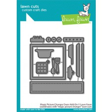 Lawn Fawn - magic picture changer oven add-on - Stanzen