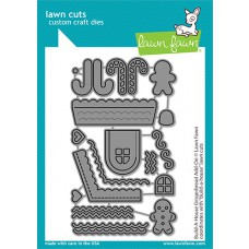 Lawn Fawn - build-a-house gingerbread add-on - Stanzen