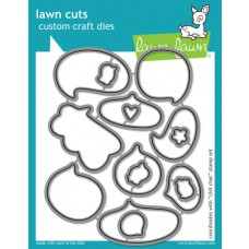 craft dies lawn fawn chit chat für scrapbook & cardmaking