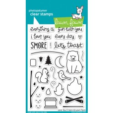 clear stamps lawn fawn Love You S`more für scrapbooking & cardmakings
