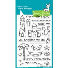 clear stamps lawn fawn Life Is Good für scrapbooking & cardmakings