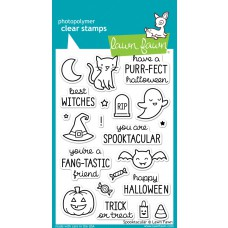 lawn fawn clear stamps spooktacular