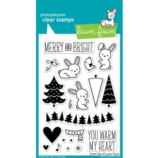 lawn fawn clear stamps snow day