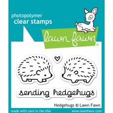 Lawn Fawn clear stamps Hedgehugs