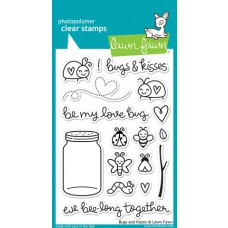 lawn fawn clear stamps bugs and kisses