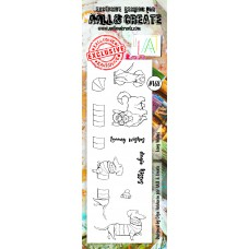 AALL & Create - Border Stamps - Long Wishes
