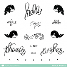 mama elephant whale wishes
