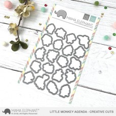Mama Elephant - Little Monkey Agenda - Stanzen