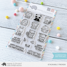 Mama Elephant - Stackable Friends - Clear Stamp 4x6