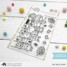 Mama Elephant - The Wild Roar - Clear Stamp 4x6