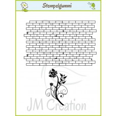 JM Creation - Mauerblume - Clear Stamp