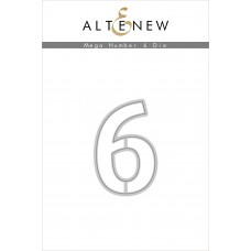 Altenew - Mega Number 6 - Stanze
