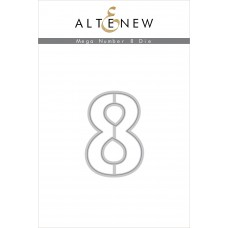 Altenew - Mega Number 8 - Stanze