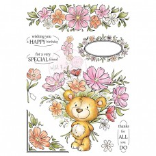 Wild Rose Studio - Milton A5 Clear Stamp
