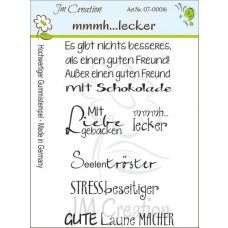 JM Creation - Mmmh...lecker - Rubberstamp