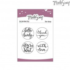 ModaScrap - Hello Lovely - Clear Stamp