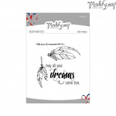 ModaScrap - Dreams - Clear Stamp