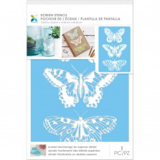 Momenta Craft Screen Stencils 6x9 - 3 Butterflies