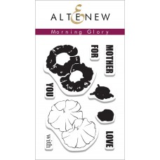 Altenew - Morning Glory - Clear Stamps 2x3