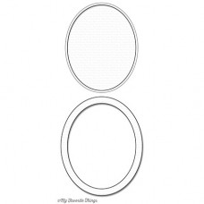 My Favorite Things - Oval Shaker Window & Frame - Stanze 1