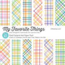My Favorite Things - Plaid Patterns - Paper Pad 6x6