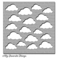 My Favorite Things - Schablone - Cloudy Day