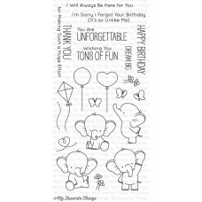 My Favorite Things - Adorable Elephants - Clear Stamp 4x8