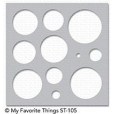 My Favorite Things - Schablone - Basic Shapes Circle