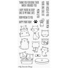 My Favorite Things - Cool Cat - Clear Stamp