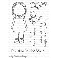 "My Favorite Things Pure Innocence Stamps 3x4"" - Feline Better"