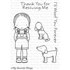 My Favorite Things Pure Innocence Stamps 3x4 - Woof You 1
