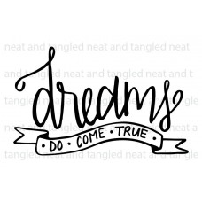 Neat & Tangled - Dreams - Clear Stamps 2x3