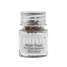 Nuvo - Pure Sheen Gemstones - Rose Triads