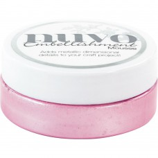 Nuvo Embellishment Mousse - Peony Pink