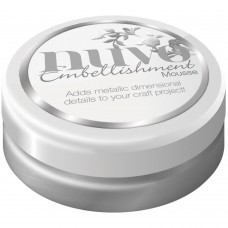 Nuvo Embellishment Mousse - Pure Platinum