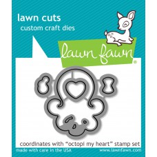 Lawn Fawn - Octopi My Heart - Cuts