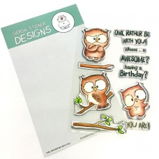 Gerda Steiner Designs - Owl Rather Be With You - Clear Stamps 4x6