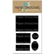 Paper Smooches - Mirror Blocks - Clear Stamp 4x6