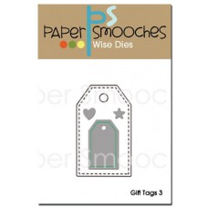 Paper Smooches - Wise Dies - Gift Tags 3