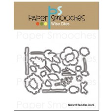 Paper Smooches - Wise Dies - Natural Beauties Icons