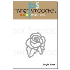 Paper Smooches - Wise Dies - Single Rose