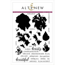 Altenew - Perennial Beauty - Clear Stamps 6x8