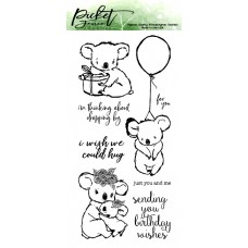 Picket Fence Studios - I Wish We Could Hug - Clear Stamps 4x8
